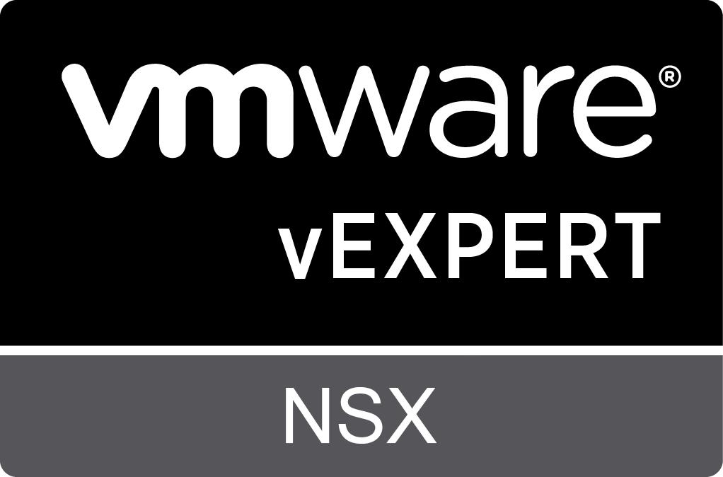 vExpert NSX 2020